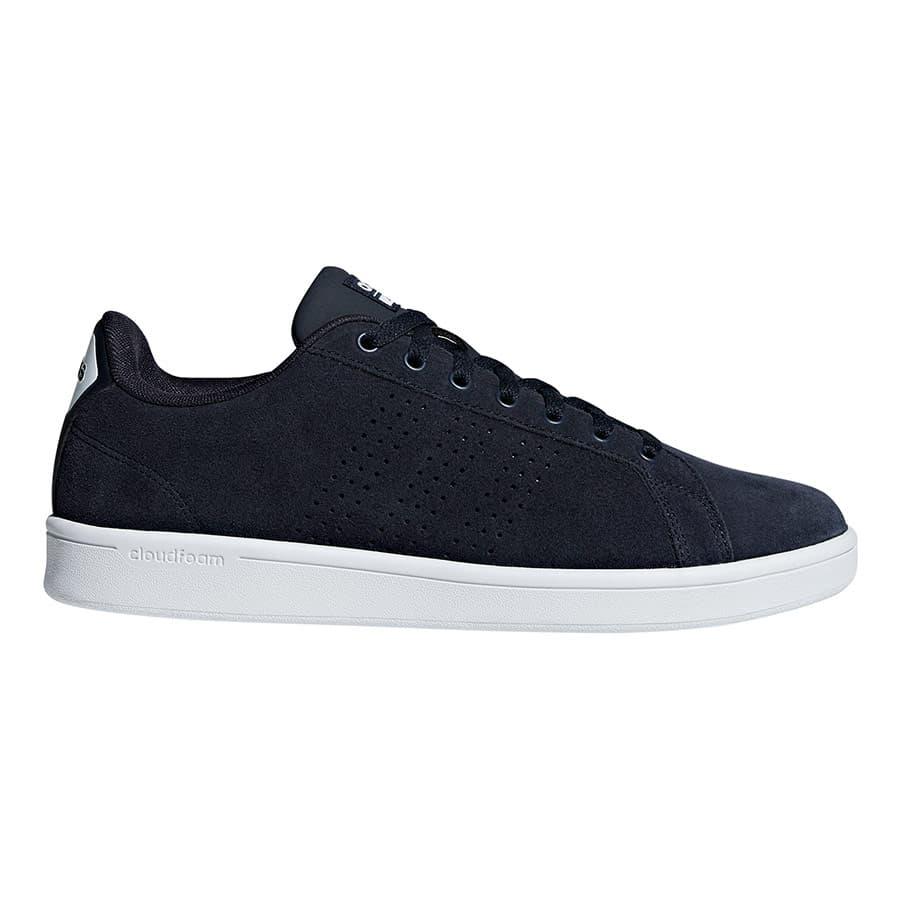 Chaussures adidas Cloudfoam Advantage Clean bleu marine blanc