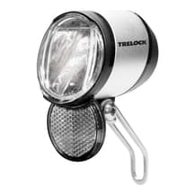 Luz dianteira LED Trelock Bike-i LS 915 Dinamo preto prata