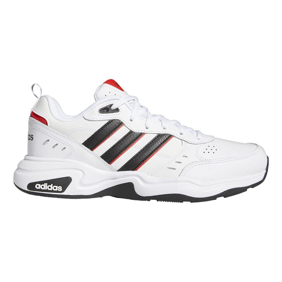 Chaussures adidas Strutter blanc noir rouge