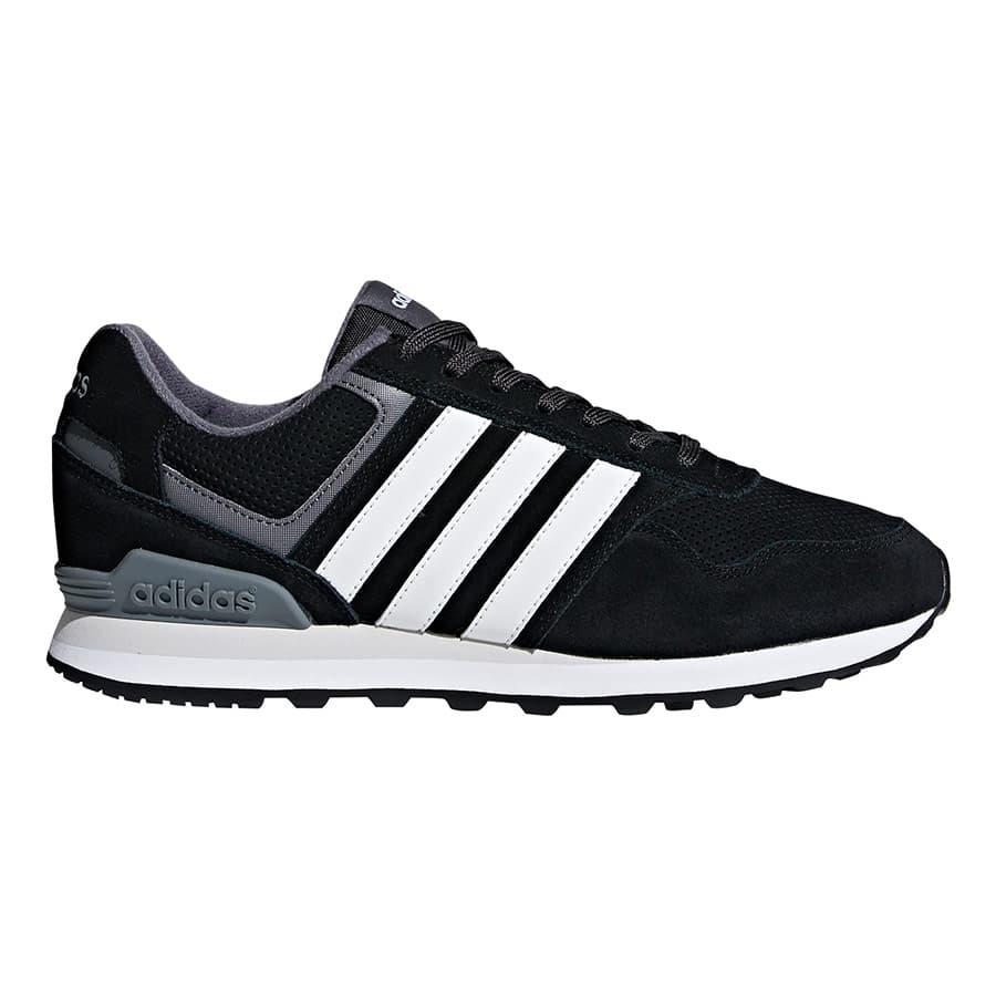 Chaussures adidas 10K noir blanc gris | Deporvillage