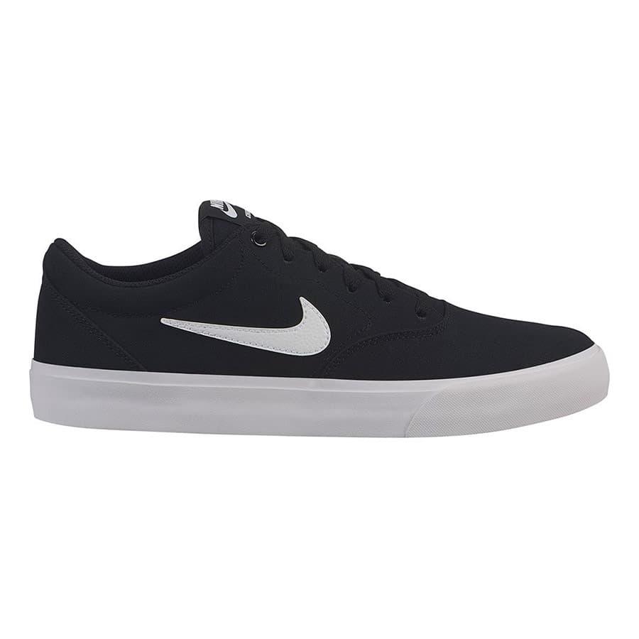Chaussures Nike SB Charge Canvas noir blanc