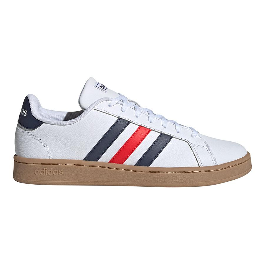 Chaussures adidas neo Grand Court 2.0 blanc bleu rouge | Deporvillage