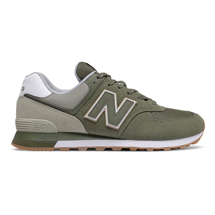 Scarpe New Balance 574 v2 verde grigio