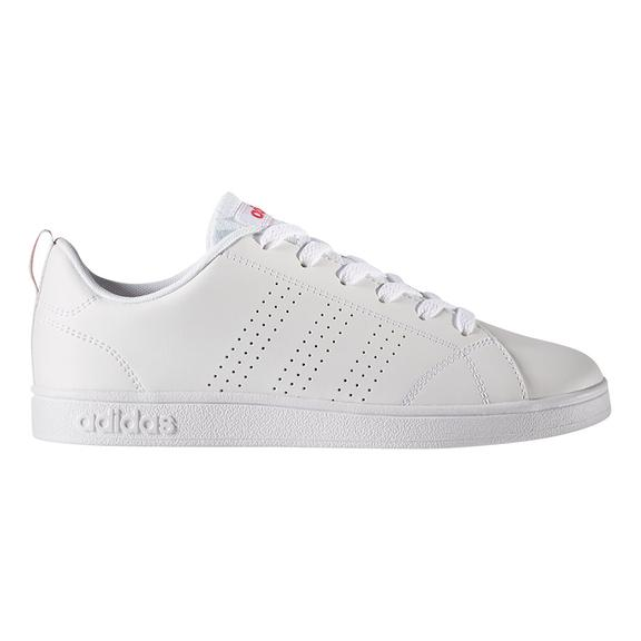 Chaussures adidas VS Advantage Clean blanc rose enfant