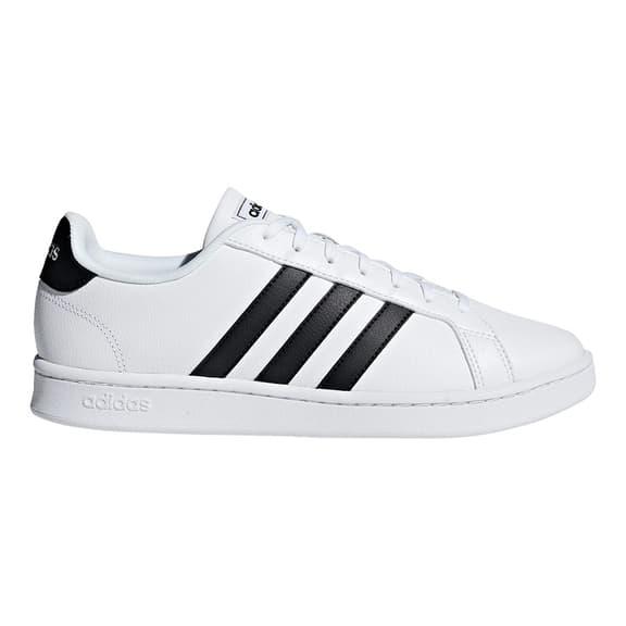 Chaussures adidas neo Grand Court blanc noir