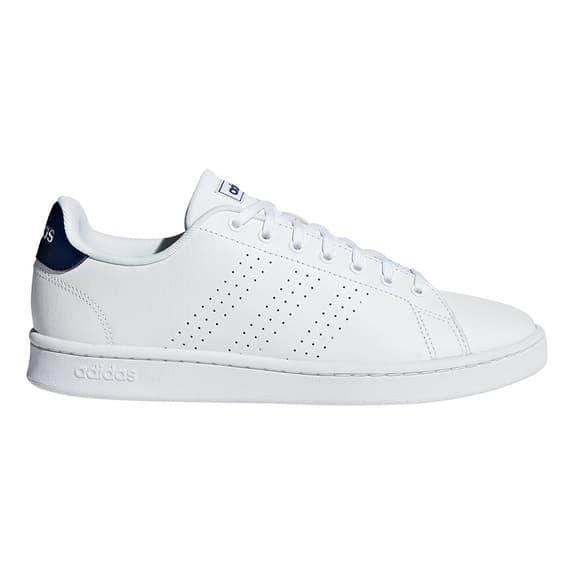 Chaussures adidas neo Advantage blanc bleu marine