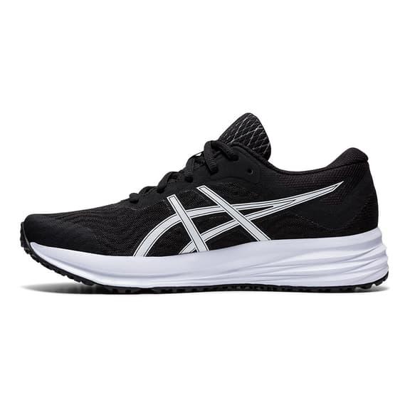 Chaussures ASICS Patriot 12 noir blanc femme
