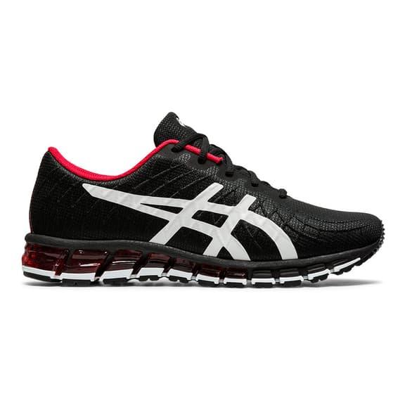 Chaussures ASICS GEL-Quantum 180 4 noir rouge blanc
