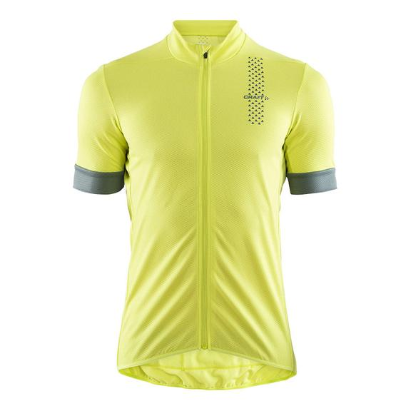 Cycle Top Craft Rise Short Sleeve Mens Cycling Jersey Green Ergonomic Fit UPF25