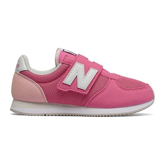 Scarpe New Balance 220 Hook and Loop rosa bianco bambino