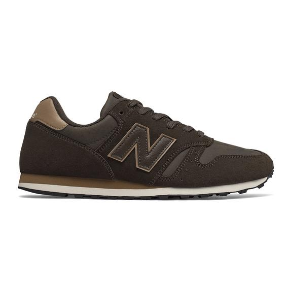 New Balance 373 Leather Shoes Green Brown
