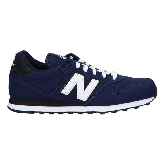 Chaussures New Balance 500 bleu marine blanc