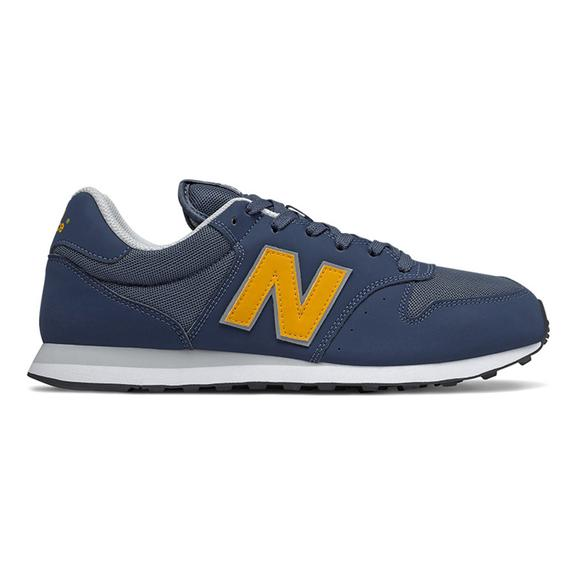 New Balance 500 Shoes Navy Blue Brown