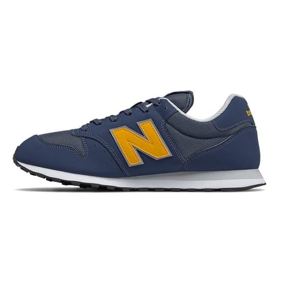 Scarpe New Balance 500 blu navy marrone