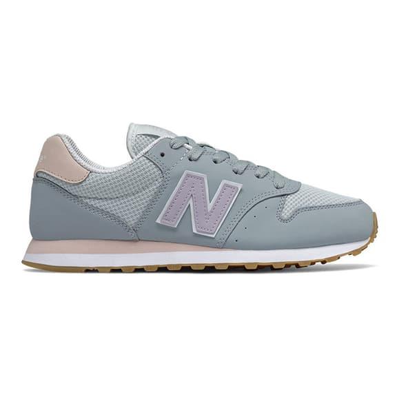 Scarpe New Balance 500 grigio lilla donna