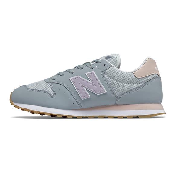 Chaussures New Balance 500 gris lila femme