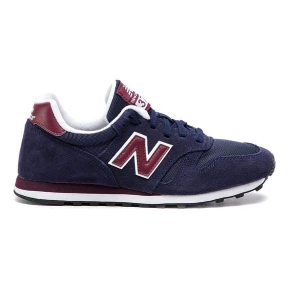 New Balance 373 Shoes Navy Blue Red