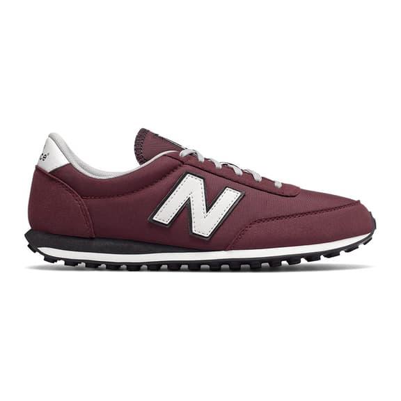 Chaussures New Balance 410 grenat rouge blanc