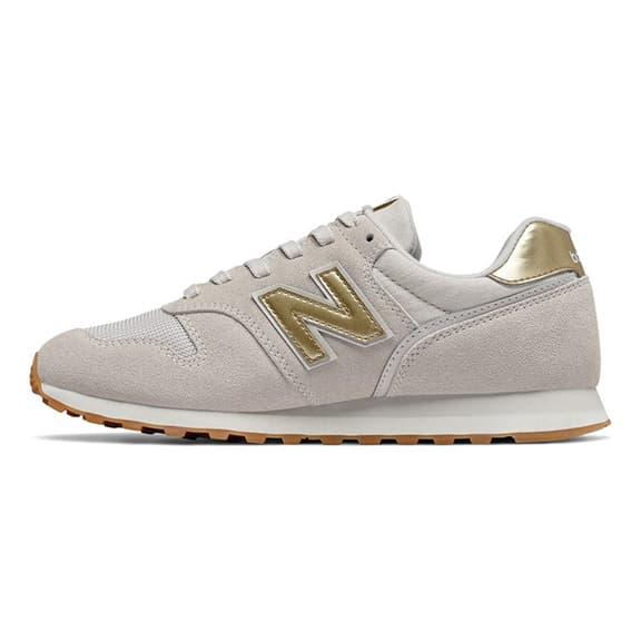 New Balance 373 v2 Trainers Grey Gold Women