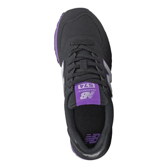 Scarpe New Balance 574 v2 nero lilla grigio donna