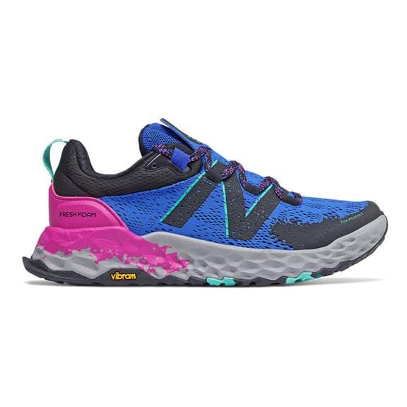Chaussures New Balance Fresh Foam Hierro v5 Trail bleu marine noir lilas femme