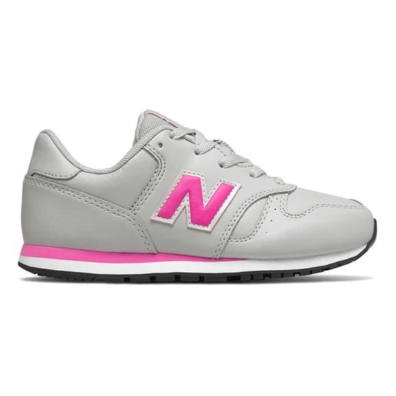 New Balance 373 Shoes Light Grey Pink Kids