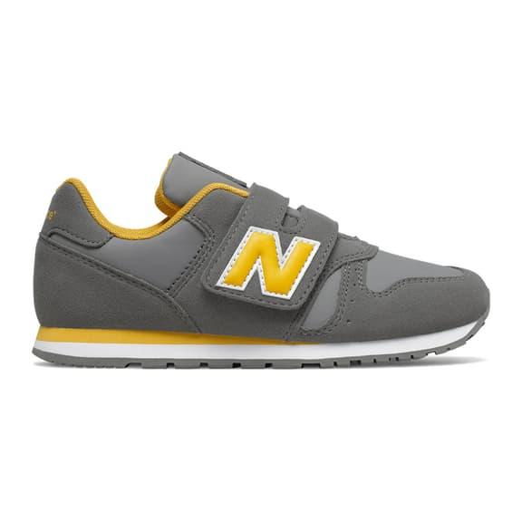 Scarpe New Balance 373 grigio giallo bambini