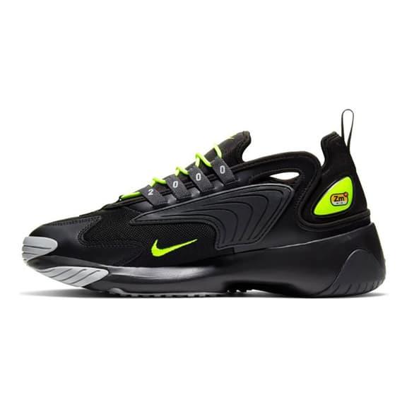 Chaussures Nike Zoom 2K noir jaune