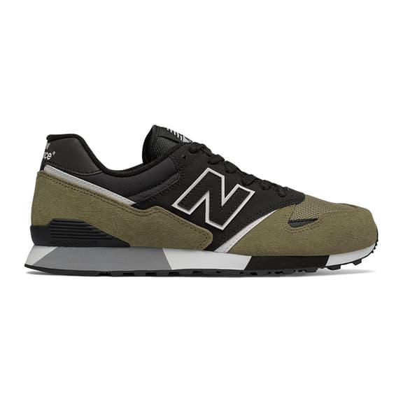 Zapatillas New Balance 446 Sneakerhead negro verde gris