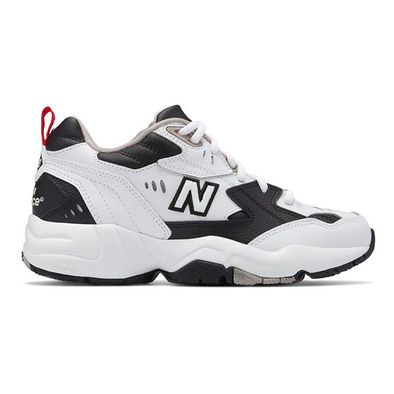 Chaussures New Balance 608 v1 blanc noir femme